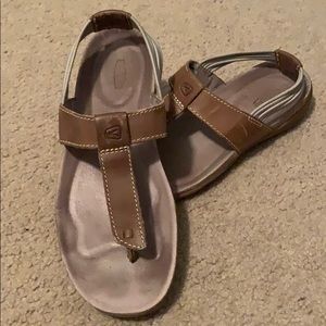 Keen Dauntless Leather Sandals